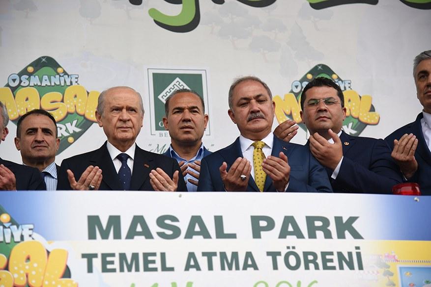 Osmaniye Masal Park Temel Atma Töreni