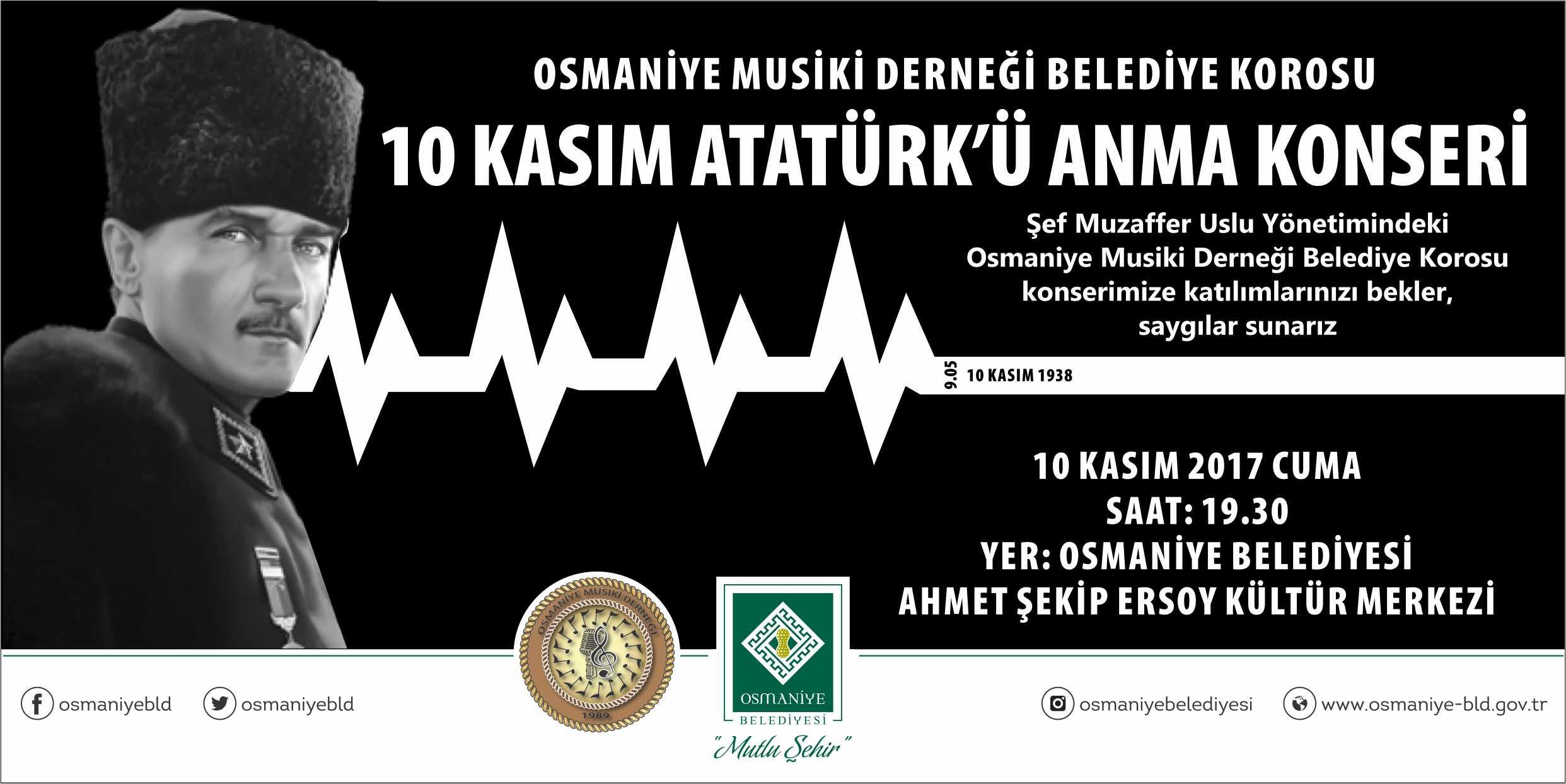 10 Kasım Atatürk'ü Anma Konseri