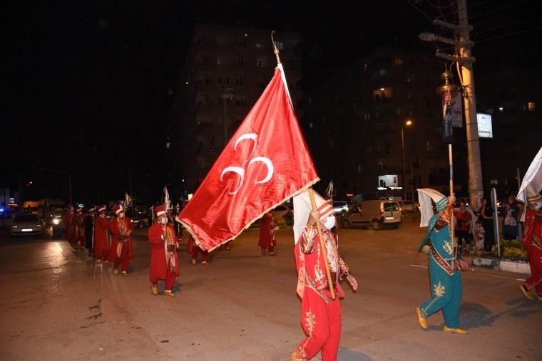 OSMANİYE'DE COŞKULU 19 MAYIS KUTLAMALARI