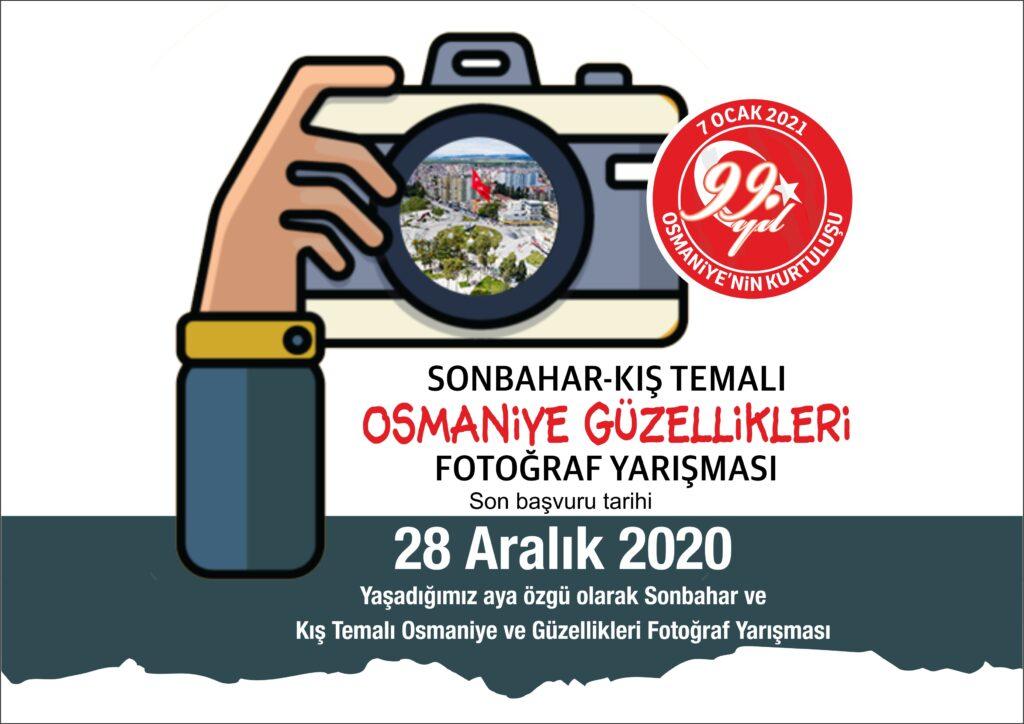 SONBAHAR-KIŞ TEMALI OSMANİYE GÜZELLİKLERİ FOTOĞRAF YARIŞMASI SONUÇLARI
